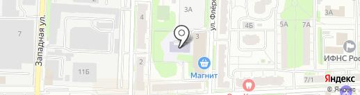 Домиранг на карте Балашихи