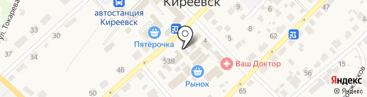 Автосервис на карте Киреевска