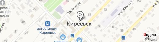 Киреевск-1 на карте Киреевска