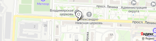 The OFFICE Nargilia Lounge на карте Балашихи