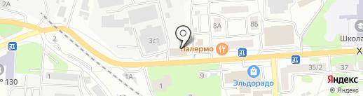 Магазин строительных и отделочных материалов на карте Ивантеевки