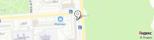 Совет депутатов муниципального округа Некрасовка на карте Некрасовки