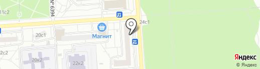 Некрасовка, ГБУ на карте Некрасовки