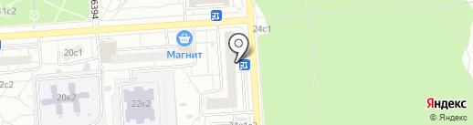 Территориальная избирательная комиссия района Некрасовка на карте Некрасовки