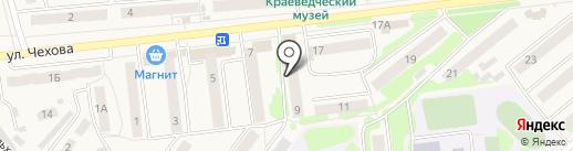 Киреевск-2 на карте Киреевска