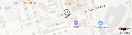 Автостоянка на карте Киреевска