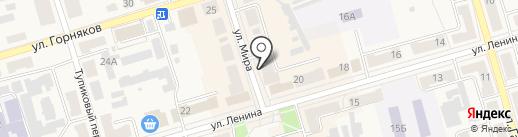 Чешский старовар на карте Киреевска