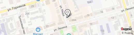 Связной на карте Киреевска