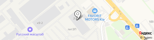 Автогранд на карте Томилино