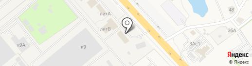 Русский Масштаб на карте Томилино