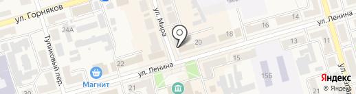 Аптечный пункт на карте Киреевска