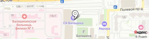 Вокруг света на карте Балашихи