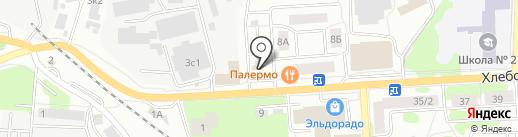 Ивантеевский хлебокомбинат на карте Ивантеевки