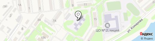 Детский сад №2, Солнышко на карте Киреевска