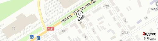 ТЕС на карте Макеевки