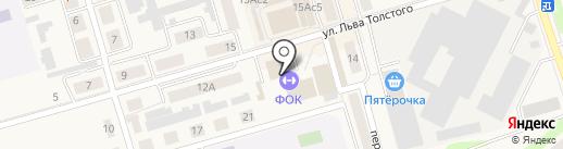 Физкультурно-оздоровительный комплекс на карте Киреевска