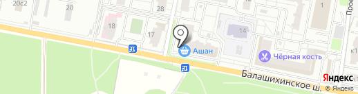 Элитмастер на карте Балашихи