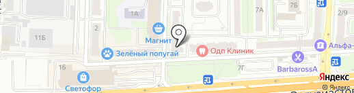 ЮНИСТРИМ на карте Балашихи