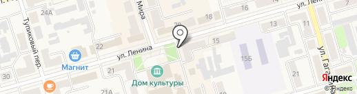 Brand на карте Киреевска