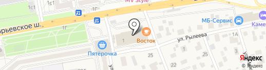1xbet на карте Томилино