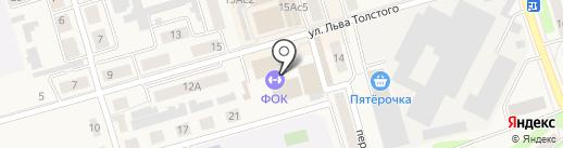 Физкультурно-оздоровительный комплекс, МКУ на карте Киреевска