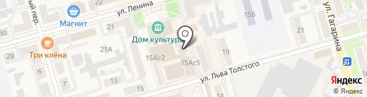 Кроха на карте Киреевска