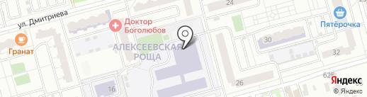 Лицей, МБОУ на карте Балашихи