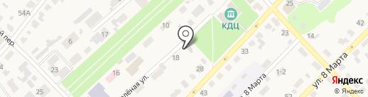 Киреевская городская библиотека на карте Киреевска