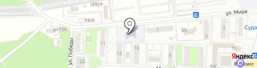 Детский сад №5 на карте Балашихи