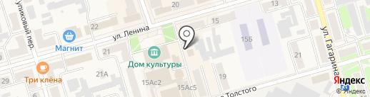 Любимый на карте Киреевска