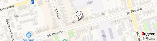Тестостерон на карте Киреевска