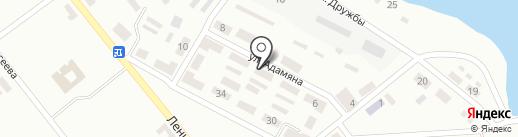 Отделение связи №12 на карте Макеевки
