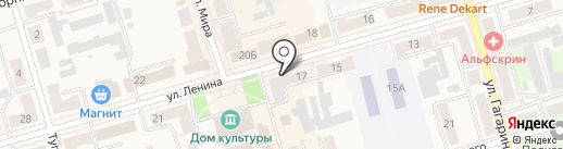 Дикси на карте Киреевска