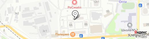 Скалба, ТСЖ на карте Ивантеевки
