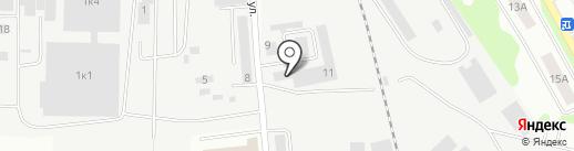 Монтажстрой на карте Ивантеевки