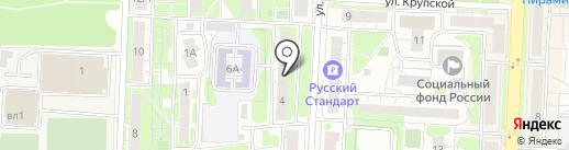 Рекламсервис на карте Балашихи