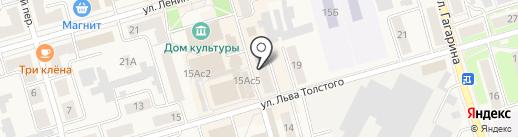 Символ на карте Киреевска