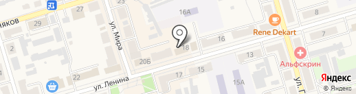 Фотоателье на карте Киреевска
