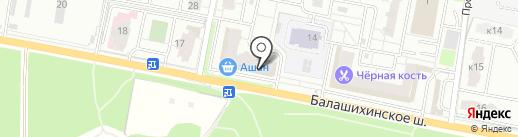 Альпари на карте Балашихи