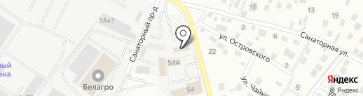 Отдел ГИБДД на карте Ивантеевки
