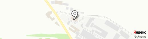 Унитех на карте Макеевки