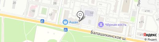 ИНВИТРО на карте Балашихи