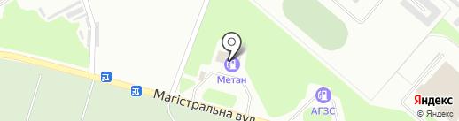 АГНКС на карте Макеевки