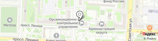 Ceragem на карте Балашихи