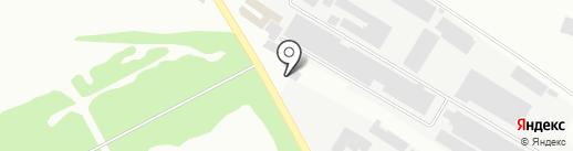Атлант на карте Макеевки