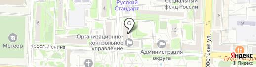 Центр Архитектурного Проектирования на карте Балашихи
