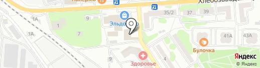 Альянс-Строй на карте Ивантеевки