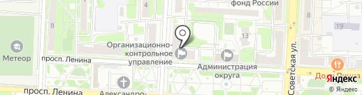ДЕКО на карте Балашихи