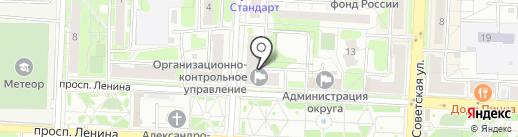 Норман на карте Балашихи