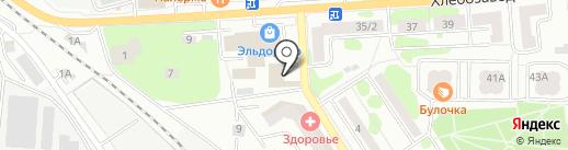Афганец на карте Ивантеевки